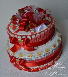 Gallery.ru / Фото #177 - Тортики из конфет - monier