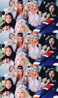 SNSD: It's a camera, act WEIRD!!