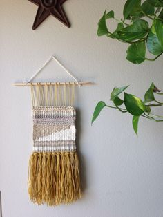 Woven, wall weaving, handwoven, wall decor, wall hanging by TheInstaDesignGroup on Etsy https://www.etsy.com/listing/236432537/woven-wall-weaving-handwoven-wall-decor