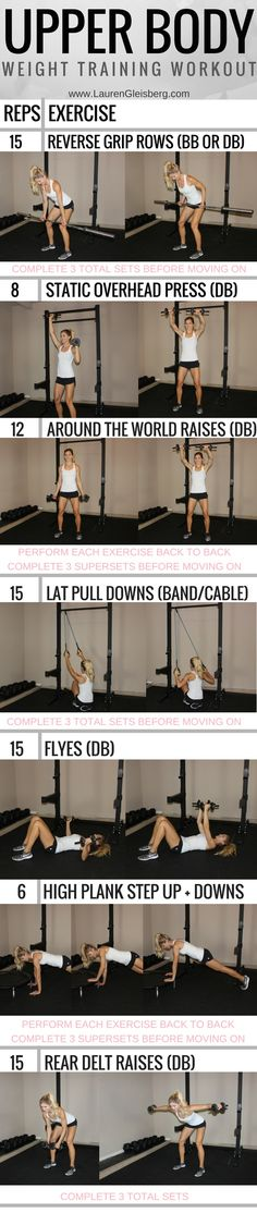 TIGHT ARMS UPPER BODY WORKOUT   click for the full fitness plan