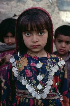 Afghanistan | Portrait of a young girl. 1980 | © Steve McCurry