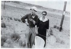 """Vladimir and Véra Nabokov. Nabokov wrote """"Lolita"""" while travelling on butterfly-collection trips in the western United States that he undertook every summer. Nabokov never learned to drive, type, fold an umbrella, or answer the telephone. Véra acted as """"secretary, typist, editor, proofreader, translator and bibliographer; his agent, business manager, legal counsel and chauffeur; his research assistant, teaching assistant and professorial understudy."""""""