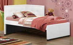 Found it at Clockway.com - Frankfort Bed Set - Twin - with Rails - THD5828