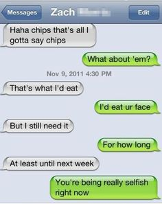 Clever flirty texts