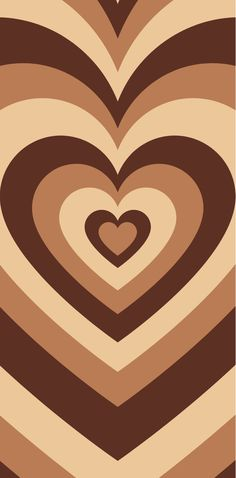 high quality brown heart iphone background🤎🤎