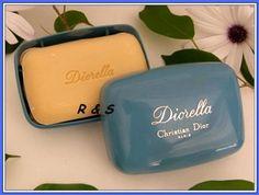 Ralfs Shop : Diorella - Parfümierte Seife in Schale