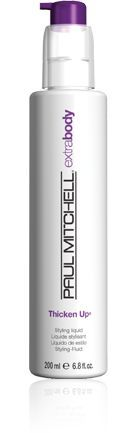 This product is awesome!  I have thin hair, especially on top and this really helps my hair to look and feel thicker!  It works even if I flat iron the hell out of it.