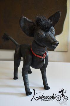 Tu mascota en peluche. Perrita Tuna. Pedido kurucuchi@gmail.com