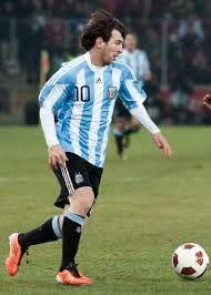 Lionel Messi, Famous soccer player for the international team of Argentina