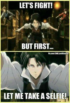 Shingeki no memes Attack On Titan Funny, Attack On Titan Anime, Aot Memes, Funny Memes, Kaneki, Nagisa, Eren Y Levi, Rivamika, Wattpad