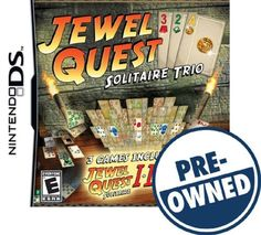 Jewel Quest Solitaire Trio — PRE-Owned - Nintendo DS