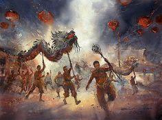 Direk Kingnok - Fire Dragon Dance