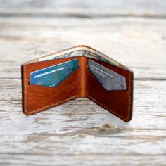 A minimalist take on a classic wallet made from two sturdy pieces of four ounce Dublin leather from The Horween Leather Company. Minimalist Wallet, Minimalist Fashion, Leather Company, Leather Craft, Hamilton, Two By Two, Dublin, Classic, Profile