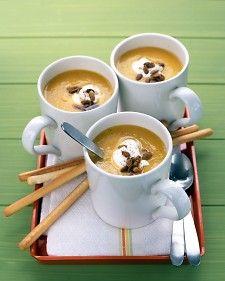 Pureed Butternut Squash Soup - Martha Stewart Recipes
