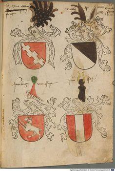 Tirol, Anton: Wappenbuch Süddeutschland, Ende 15. Jh. - 1540 Cod.icon. 310 Folio 112r