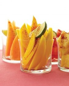mango with chili powder and lime