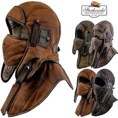 Bomber Men's Trapper Pilot Steampunk Hats Men's Accessories Steampunk Hat, Trapper Hats, Herren Outfit, Airsoft, Winter Gear, Cool Gear, Motorcycle Outfit, Men's Accessories, Tactical Gear