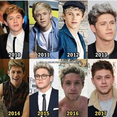 Great picture progression. Niall Horan