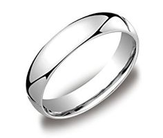 Men's Platinum Comfort-Fit Plain Wedding Band (5 mm), Size 9  http://electmejewellery.com/jewelry/men39s-platinum-comfortfit-plain-wedding-band-5-mm-size-9-com/