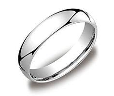 Men's Platinum Comfort-Fit Plain Wedding Band (5 mm), Size 9  http://electmejewellery.com/jewelry/men39s-platinum-comfortfit-plain-wedding-band-5-mm-size-9-com/