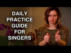 2: How to Practice Singing On Your Own - Daily Practice Guide - Felicia Ricci - YouTube