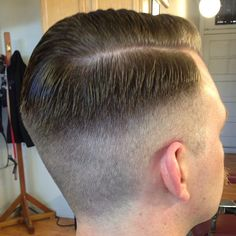 #barber #barberlife #haircut #sidepart #combover #pomp #pompadour #pomade #bonafidepomade