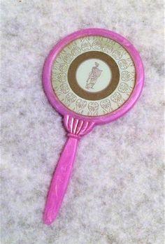 Vintage Lavender Marbleized Plastic Hand Mirror with Roman or Greek Woman Vintage Vanity, Ancient Romans, Mirror Mirror, Lavender, Plastic, Glass, Color, Women, Colour