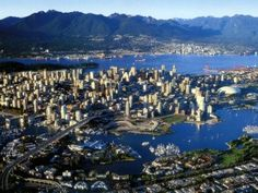Vancouver, BC, Canada. The most beautiful city in the Western Hemisphere. Especially during the summer. I intend to live here one day!