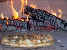 Wood Fired Cooked Pizza!