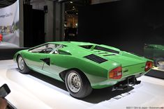Lamborghini Countach LP400 Prototipo by Marcello Gandini at Bertone. It will be unsurpassable! - LGMSports.com
