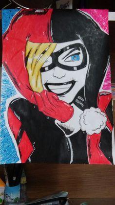 Harley quinn (my drawing)