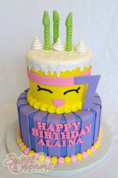 Shopkins cake - Made by Sweet Dreams Bakery -Tennessee