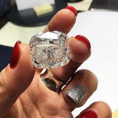 55.88 Carat White Diamond