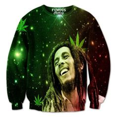 **Bob Marley** Crazy Sweatshirt. More fantastic pictures, music and videos of *Bob Marley* on: https://de.pinterest.com/ReggaeHeart/