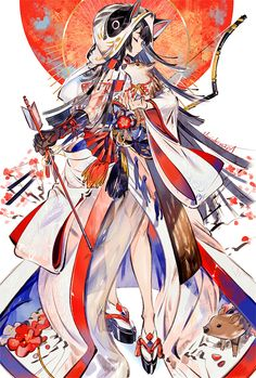 Happy New Year, Kaisen Tobiuo, Digital, 2019 : Art Anime Kimono, Anime Art Girl, Manga Art, Manga Anime, Otaku Anime, Illustration, Wow Art, Japan Art, Anime Artwork