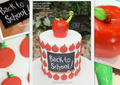Great #BackToSchool #CakeDecorating idea!