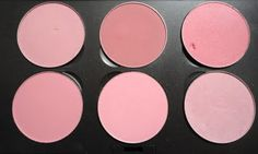 Pink MAC Blush Palette TOP: Dame, Desert Rose, Dollymix  BOTTOM: Pinch O' Peach, Pink Swoon, Well Dressed
