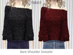 Sims 4 CC's - The Best: Sweater by Paulean R Sims