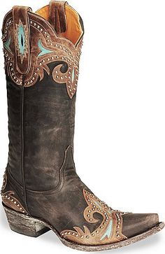 First heard about Old Gringo boots from a woman I stalked at a Christmas art market wearing a mostly blue pair that were fantastic. Very much a wish list item - their boots run about $500 a pair. Hers were a 40th birthday present to herself. http://media-cache4.pinterest.com/upload/83879611779270748_eqrWCG3p_f.jpg vickiesauter mi estilo e inspiracion