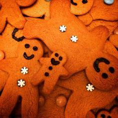 Yummy cute gingerbread men festive fun