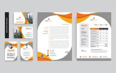 Mutants Branding Stationery Corporate Identity Template Corporate Identity Design, Brand Identity, Branding, Stationery Templates, Stationery Design, Folder Design, Letterhead Design, Illustrator Cs, Business Card Design