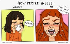 Normal People Vs. Me Truthful Comic Strips