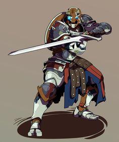 a Warforged DnD character - Fantasy Character Design, Character Creation, Character Design Inspiration, Character Concept, Character Art, Dungeons And Dragons Characters, Sci Fi Characters, Fantasy Armor, Medieval Fantasy