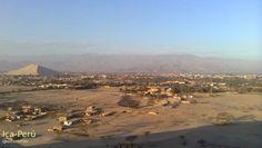 La ciudad de #Ica en donde he residido casi dos tercios de mi vida, a la izquierda el cerro Saraja lleno de tantos recuerdos :-]