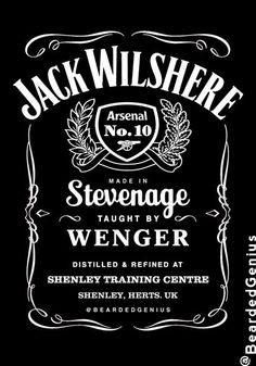 DARYL DIXON, Walking Dead, Whiskey~~Yeah just to let us think he's some hillbilly :) Arsenal Fc, Arsenal Football, New York Jets Football, Daryl Dixon, Norman Reedus, Whiskey Logo, Jack Wilshere, Slash, Dave Matthews Band