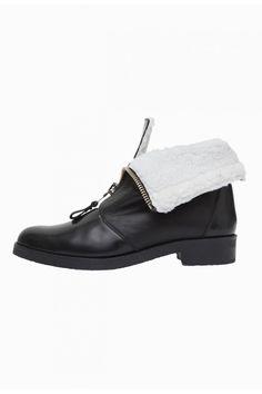 Boots ALPIN NOIR - Chaussures Femme - Claudie Pierlot