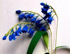 Paper Flower Bluebell