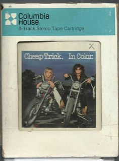CHEAP TRICK In Color rock 8 TRACK MUSIC TAPE ALBUM 8 Track Tapes, Cheap Trick, Blues Brothers, Song List, Music Albums, My Ebay, Packaging, Songs, Rock