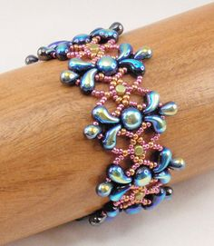 Beading Tutorial for Splash Bracelet beading tutorials