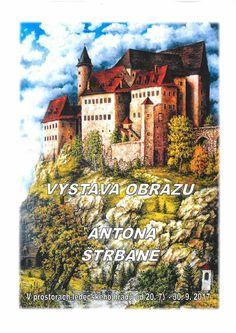 Výstava obrazů Antona Štrbáně   www.ledecsko.cz